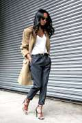 Look con trench lungo