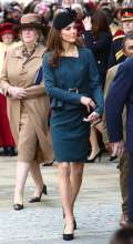 Cappello nero per Kate Middleton