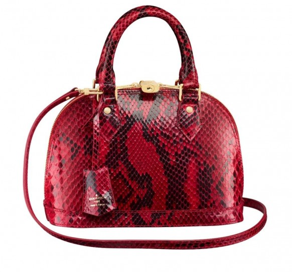 Louis Vuitton, Alma BB in pitone