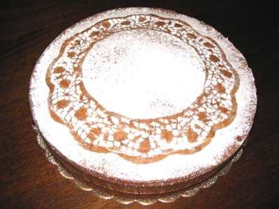 torta margherita decorata