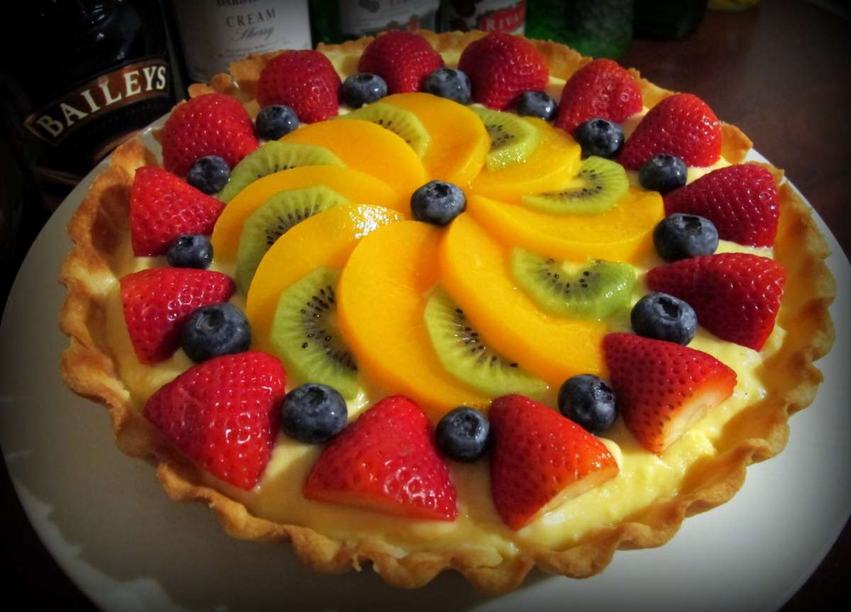 What Is Fruit Flan Cake