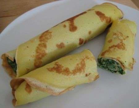 crepes spinaci