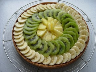 Crostata banana