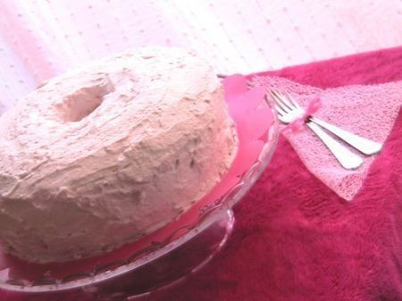 angel cake alla fragola