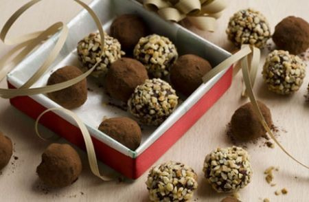 Tartufi alle nocciole per Natale