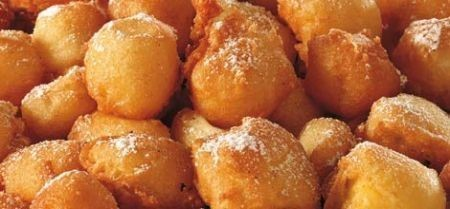 frittelle dolci alla crema
