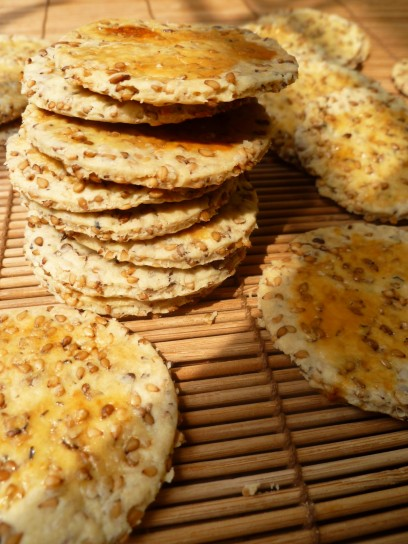 Ricette crackers fatti in casa foto 4 40 pourfemme for Case di cracker di florida