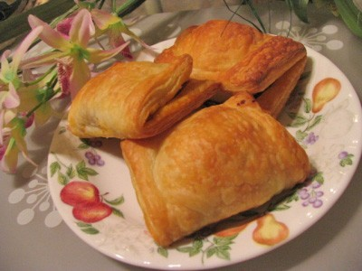 Ricette dolci: sfogliatelle delicate di albicocche