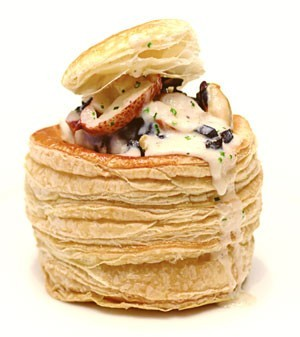 vol au vent al tartufo