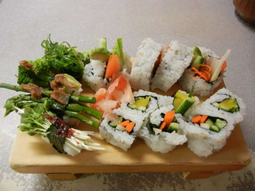 Ricette cucina giapponese sushi