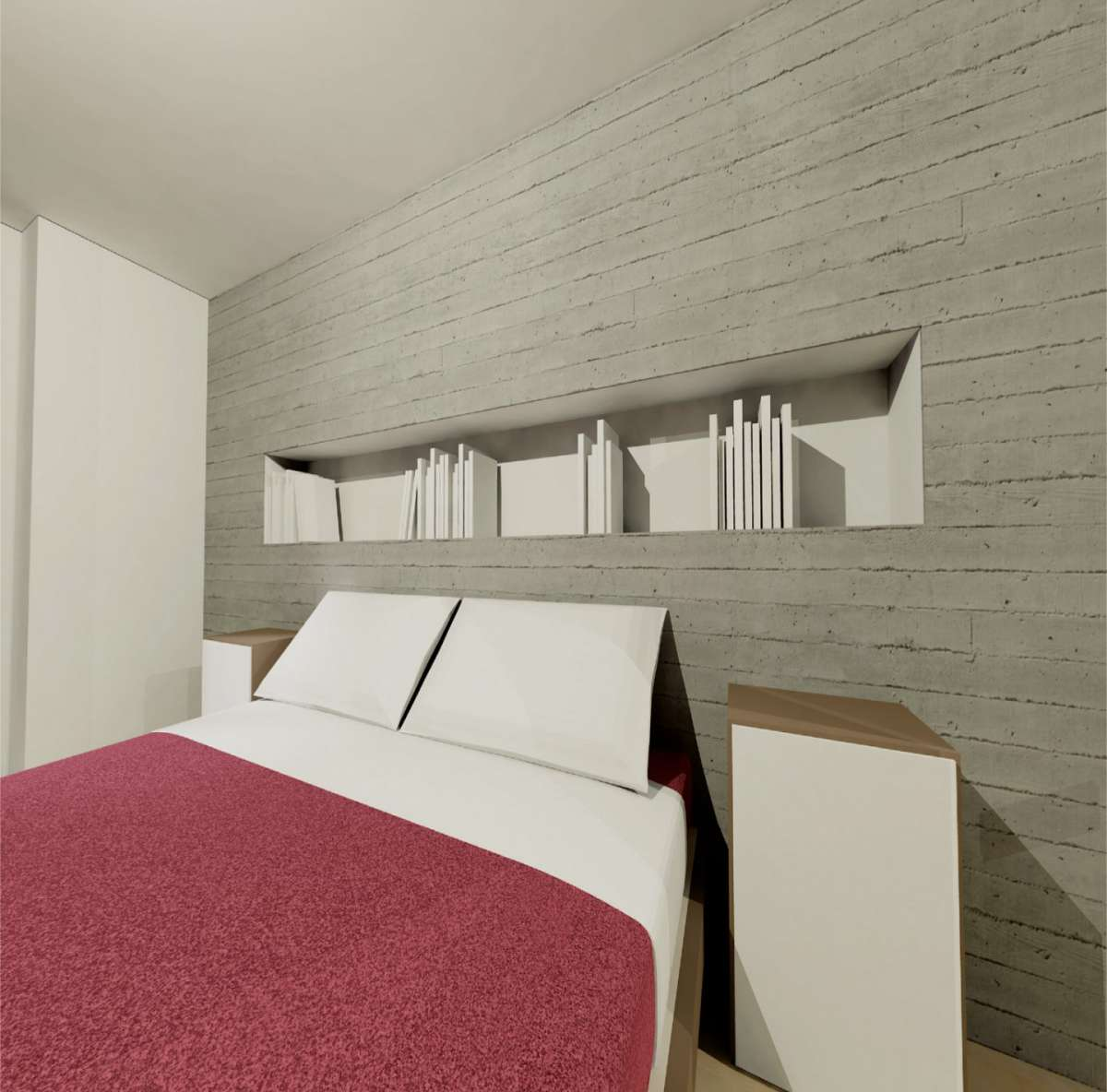 Quadro per bagno for Letto a soffitto matrimoniale design