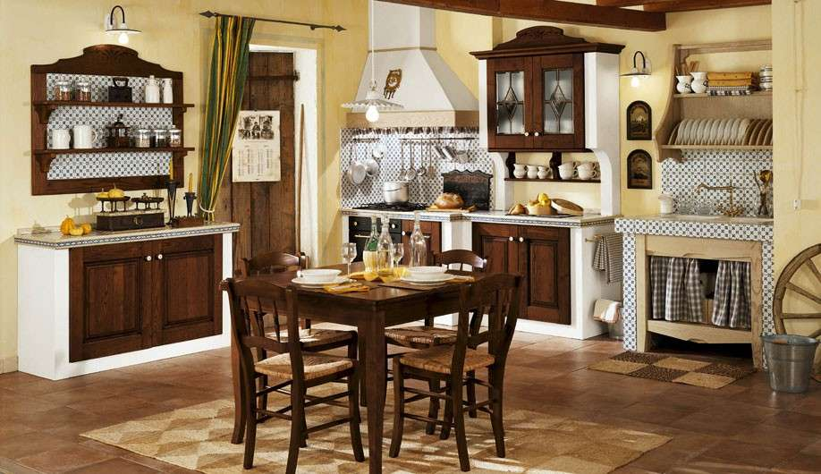 Tende cucine country 2