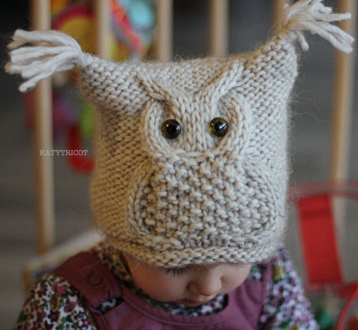 Free Knitting Patterns For Baby Owl Hats : Gufi a maglia e alluncinetto (Foto 2/40) Tempo Libero PourFemme