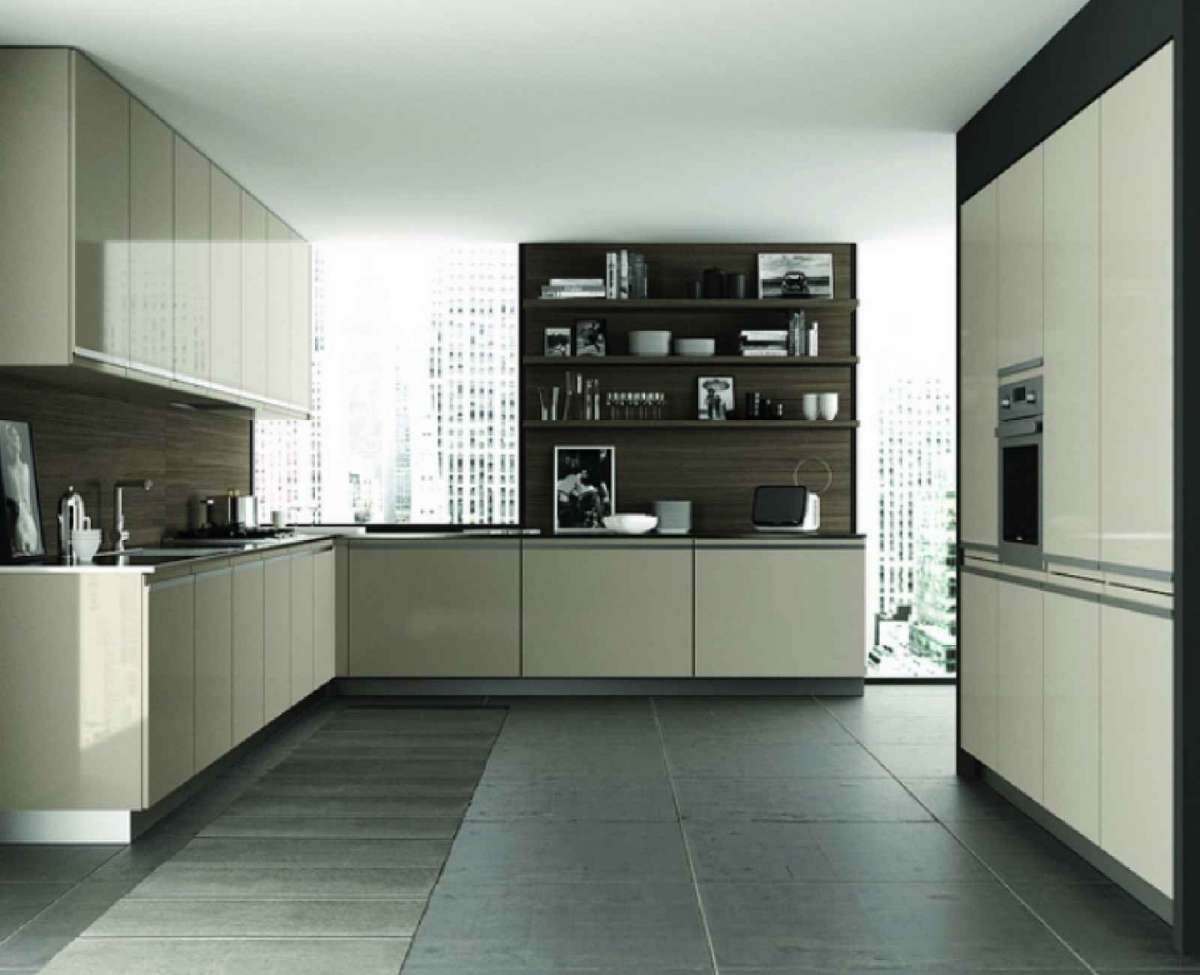 Beautiful Cucina Color Tortora Ideas - Embercreative.us - embercreative.us