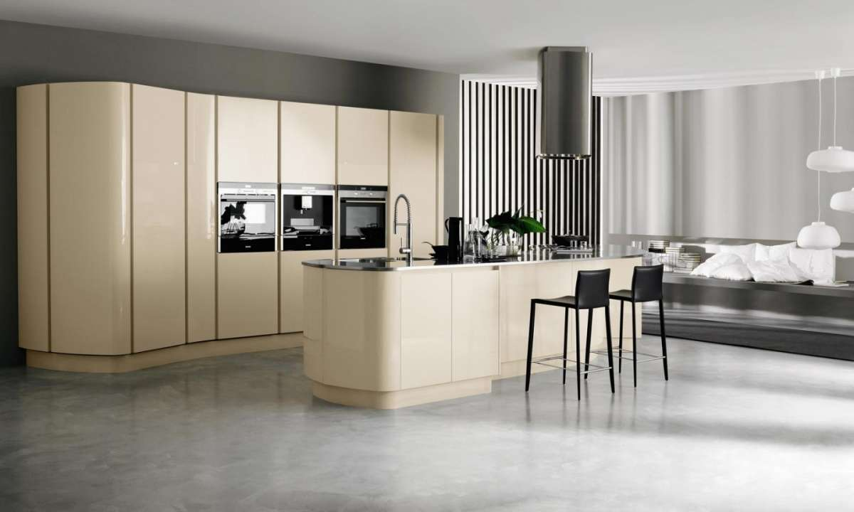 Piastrelle per cucina moderna beige beautiful give star for