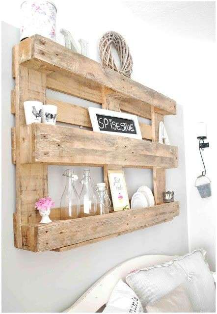 Recibidor con pallets