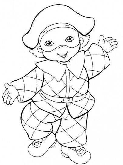 Arlecchino bambino