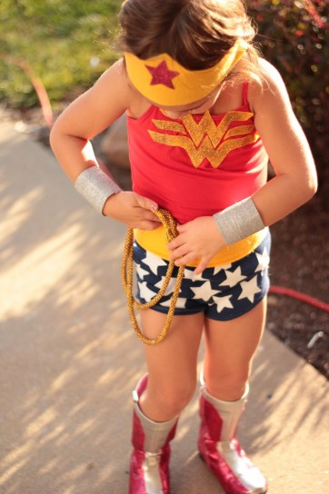 Vestito da Wonder Woman