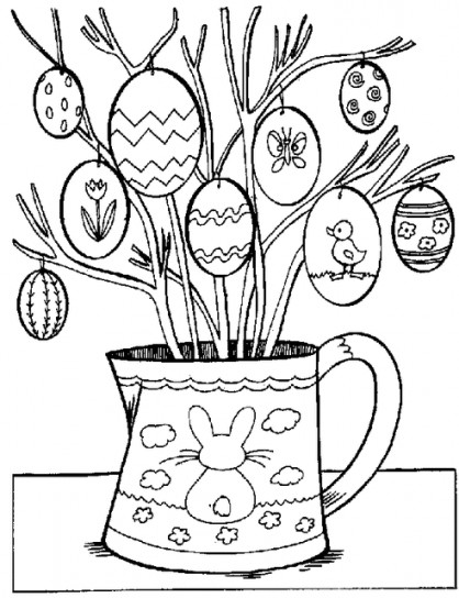 Disegni di Pasqua per i bambini