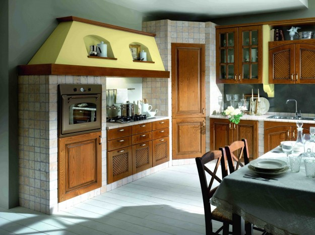 Awesome Modelli Cucina In Muratura Ideas - Skilifts.us - skilifts.us