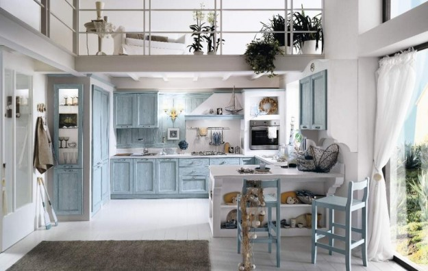 Cucine in muratura tante idee di stile e design foto for Interno case americane