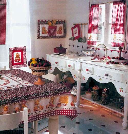 Cucito country idee per la cucina foto pourfemme for Idee per arredare casa stile country