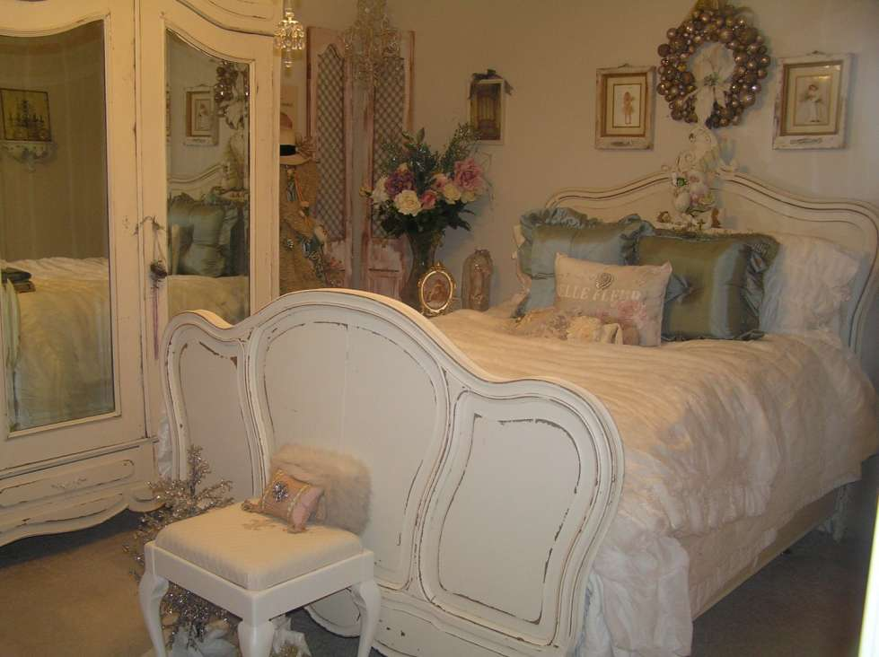 Decorazioni shabby chic per la camera da letto - Camera letto shabby ...