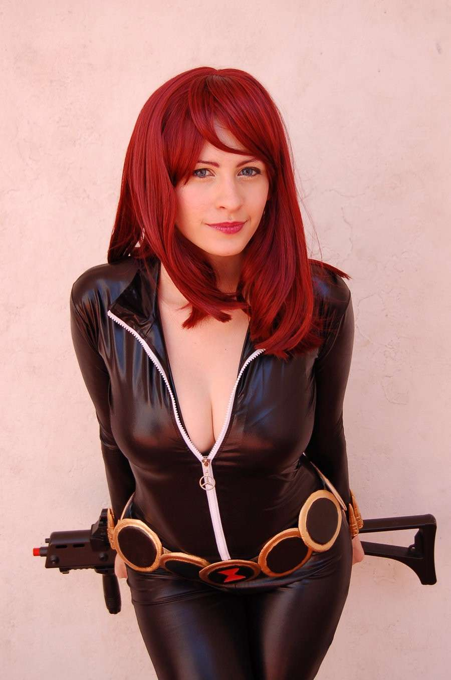 Black widow hot naked cosplay fucking scenes