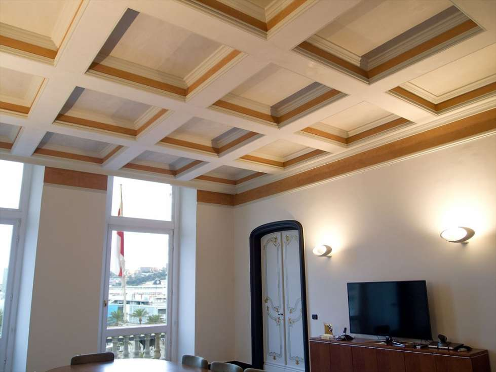 Controsoffitto a cassettoni for Arredamento in cartongesso