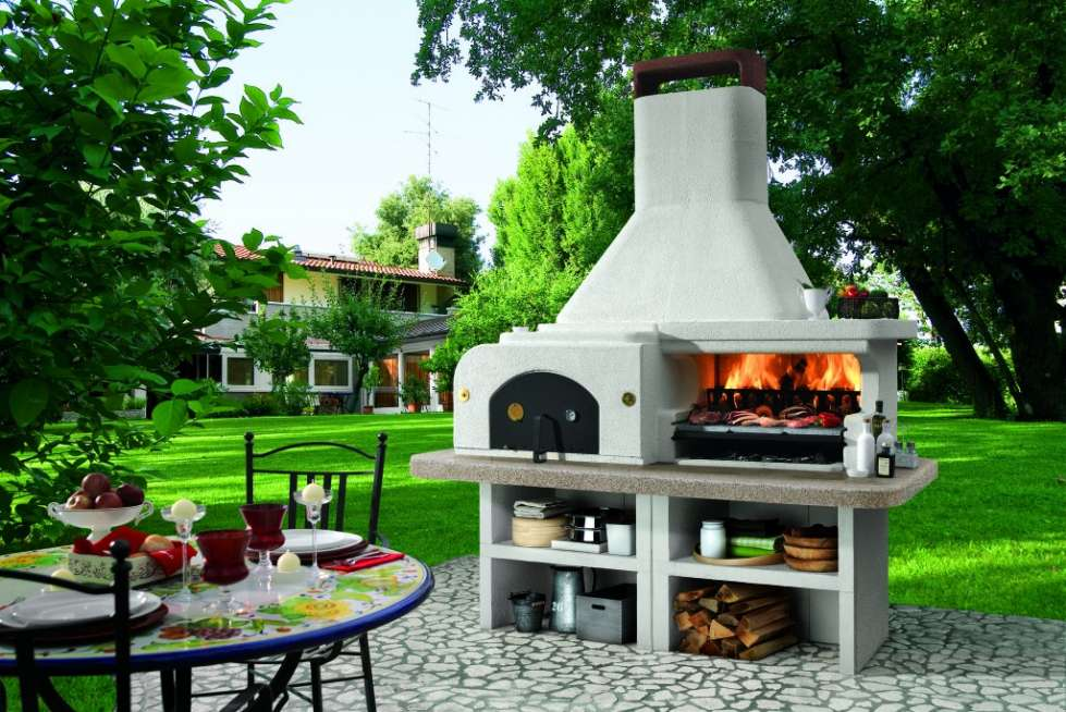 barbecue in muratura foto 10 40 tempo libero. Black Bedroom Furniture Sets. Home Design Ideas