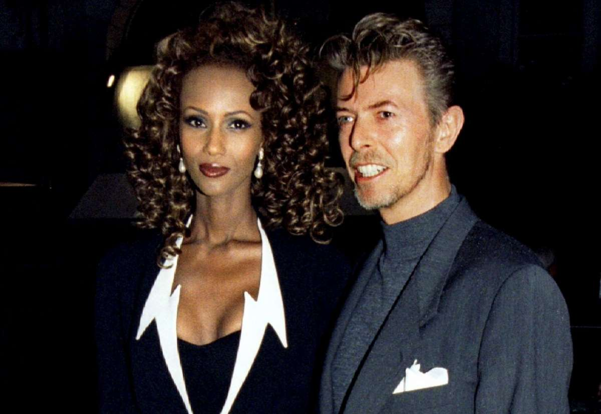 Iman Mohamed Abdulmajid e David Bowie