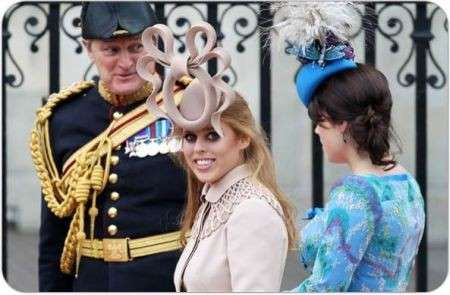 Beatrice di York matrimonio William e Kate