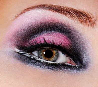 Make up in rosa