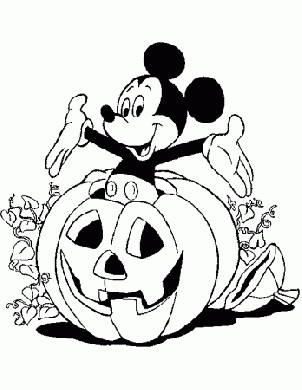 Halloween Topolino