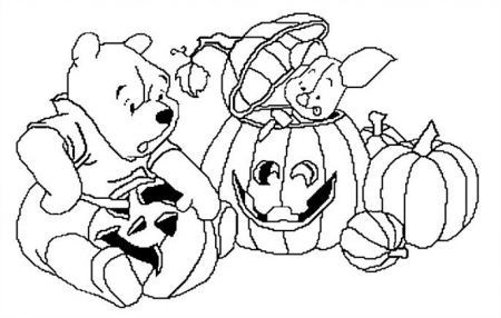 Halloween Winnie the Pooh