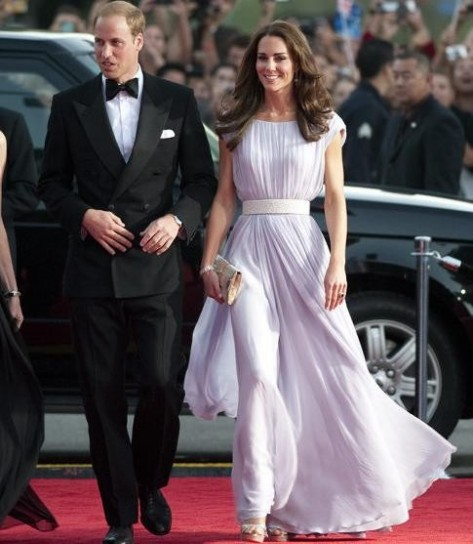 Kate Middleton ai BAFTA