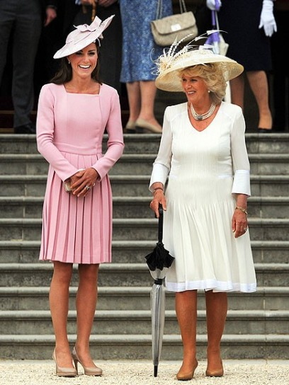 Kate Middleton  con Camilla