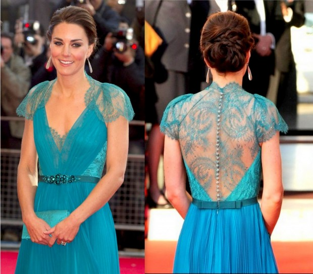 Kate Middleton in azzurro