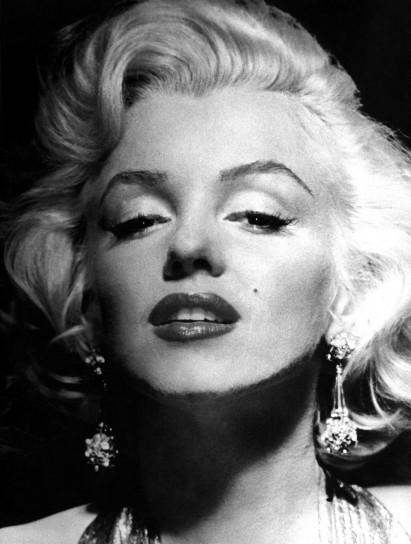 Il viso di Marylin Monroe
