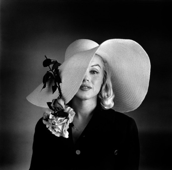 Marylin Monroe con il cappello