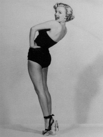 Marylin Monroe in versione pin up