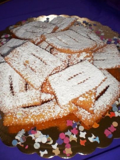 Chiacchiere per Carnevale 