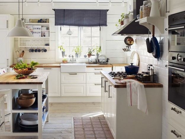 Stile country foto pourfemme - Cucina country ikea ...