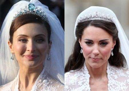 Kate Middleton ha copiato l'abito da sposa!