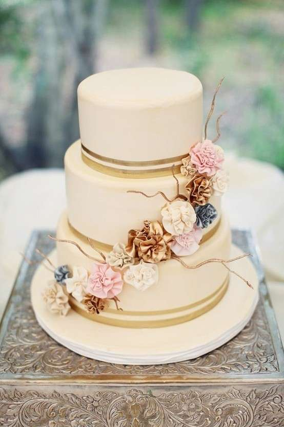 Torte Matrimonio Country Chic : Torte a piani foto pourfemme