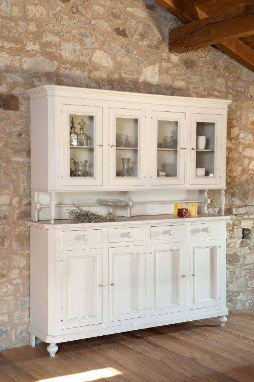 Stile country per il mobile buffet for Stile country arredamento