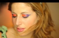 Clio Make up: trucco viola e arancio per un'estate 2011 a colori