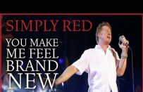 Musica matrimonio: You Make Me Feel Brand New dei Simply Red
