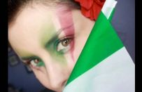 Mondiali di calcio 2010: tutorial make up per tifare Italia