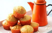 Muffin all'arancia senza glutine